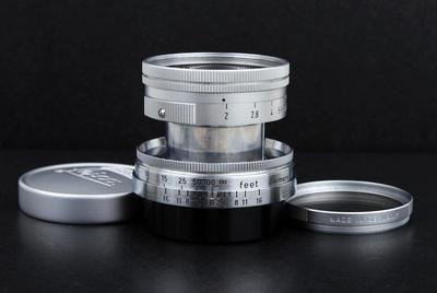 镧系玻璃Leica徕卡Summicron L 50/2 L39螺口镜头jp23333