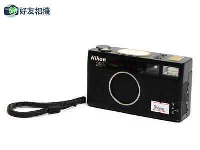 尼康/Nikon 28Ti 傻瓜胶片相机 连28/2.8 镜头 经典黑色
