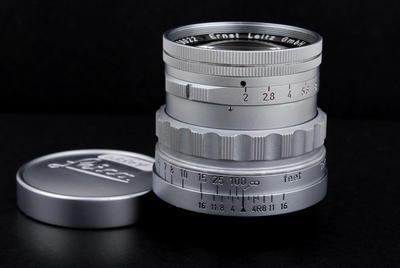 徕卡Leica Leitz Summicron 50/2 Rigid L39口反纹镜头jp23304