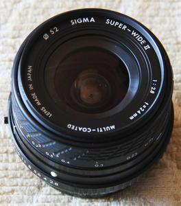 很新适马24mmf2.8金属镜头,PK卡口