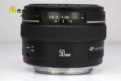 【标准定焦镜头】佳能50/1.4 USM镜头(NO:0378)