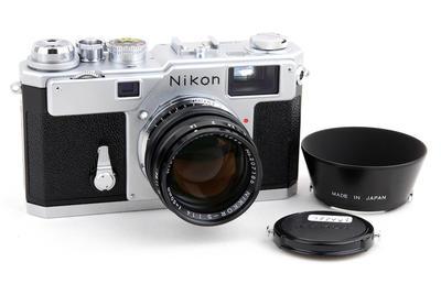 新同品Nikon尼康S3 + 50/1.4套机2000年限量版jp23348