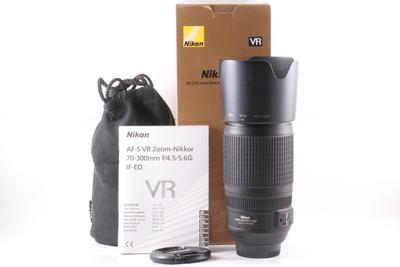 98/尼康 AF-S VR 70-300mm f/4.5-5.6G IF-ED ( 全套包装 )