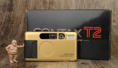 CONTAX T2 金色 极美品