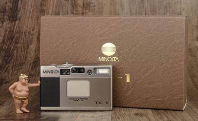 美能达 Minolta TC-1 TC1 极美品