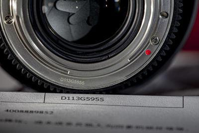 美品三阳电影头85毫米T1.5全套配件