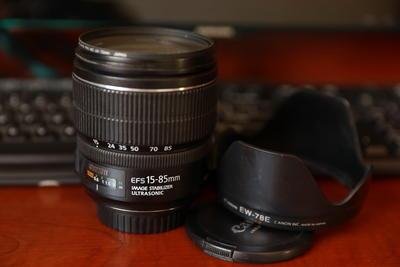 佳能 EF-S 15-85mm f/3.5-5.6 IS USM