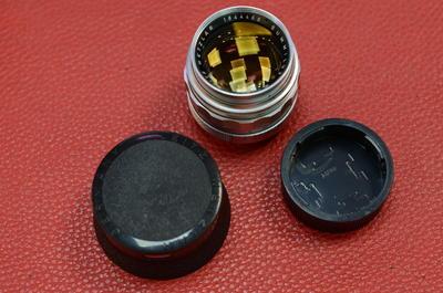 Leica徕卡 Summilux M 50/1.4 E43 V2 二代银色德产黄金镀膜镜头