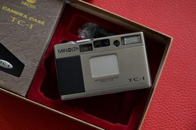 99新全套MINOLTA美能达 TC-1 自动 胶卷 相机 135规格胶片机TC1