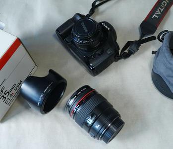 佳能 EF 35mm f/1.4L USM+85新5D机身+50\1.8镜头  整套5000出