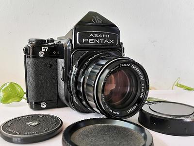 PENTAX 宾得 67 105 2.4 镜头 120相机 套机