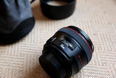 佳能 EF 50mm f/1.2L USM 超级新