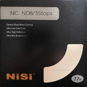 Nisi NC ND8 减光镜 77mm