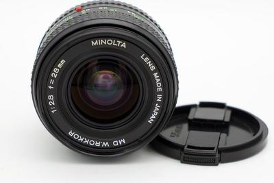 近全新的美能达MD 28 2.8 镜头