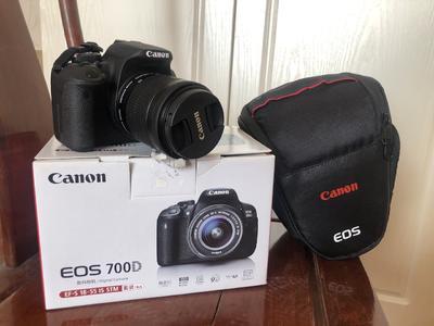 佳能 700D 18-55全新套机 含相机包和内存卡