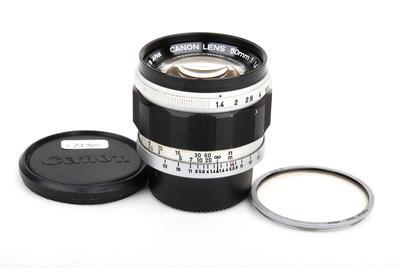 佳能 50/1.4 LTM Leica L39 徕卡螺口镜头 #jp23580
