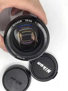 尼康 Nikon NIKKOR K版本 AUTO 55 1.2 大光圈定焦人像镜头 99新