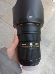 出一支成色99新的尼康 AF-S Nikkor 24-70mm f/2.8G ED