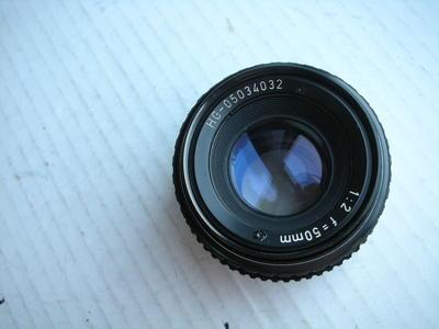 很新珠江50mmf2金属制造镜头,PK卡口,可转接各种数码相机