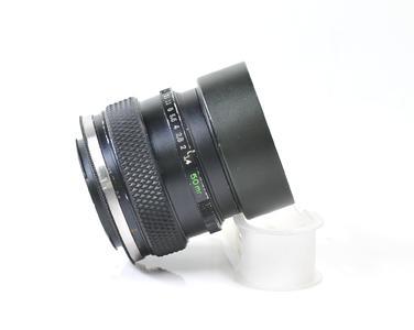 奥林巴斯OLYMPUS OM 50/1.4百万号多层镀膜后期版尼康囗手动镜头