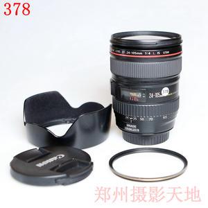 佳能 EF 24-105mm f/4L IS USM 经典红圈镜头 编码378