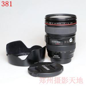 佳能 EF 24-105mm f/4L IS USM 经典红圈镜头 编码381