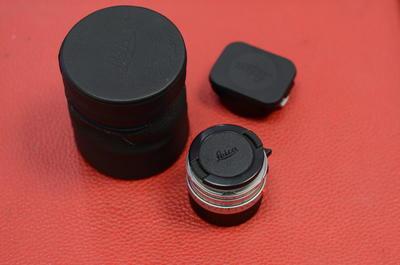 Leica徕卡 summicron35 2 七枚玉莱卡M35/2 银色德产方字版镜头