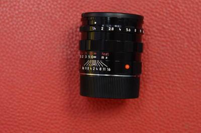 全套99新leica徕卡 Summilux-M 50/1.4 E46 pre 黑漆镜头