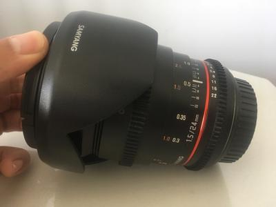 Samyang 24mm T1.5 Ⅱ