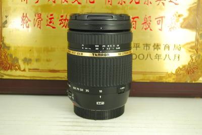 佳能口 腾龙 18-270 F3.5-6.3 VC B003单反镜头 防抖旅游头