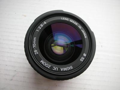 很新适马28--70mmf2.8-4镜头,MD卡口,可配各种相机