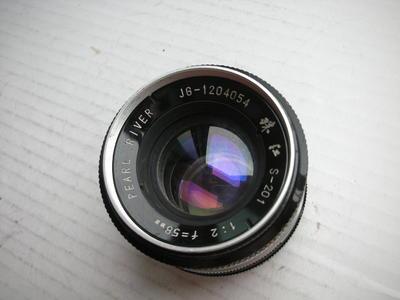 很新珠江58mmf2金属制造镜头,MD卡口,可转接各种相机