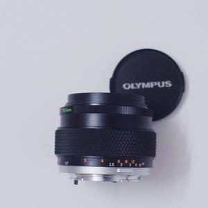 少见的OM50/1.2镜头