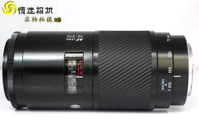 美能达AF 70-210/4镜头(索尼A口)中长变焦镜头(NO:0423)*