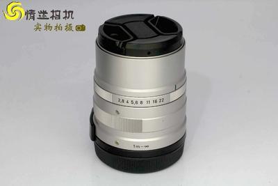 【定焦镜头】康泰时G90/2.8镜头 日本产 (NO:0277)*