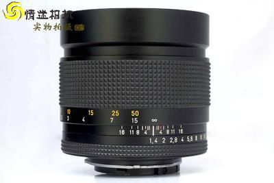 【中定焦镜头】康泰时85/1.4 YC口 日本产镜头(NO:5986)*