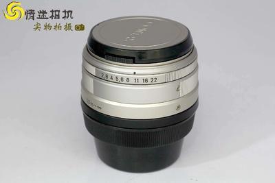 【广角定焦镜头】康泰时G28/2.8广角定焦镜头日本产(NO:0631)*