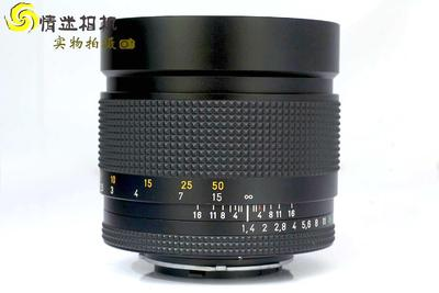 【中定焦镜头】康泰时85/1.4 YC口 日本产 镜头(NO:4985)*