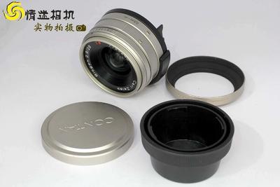 【广角定焦镜头】康泰时G28/2.8广角定焦镜头日本产(NO:0246)*