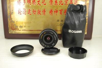 98新 佳能FD口 OSAWA 28mm F2.8 MC 手动单反镜头 小广角定焦