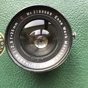 德国enna 35mm f2.5经典镜头, exa口