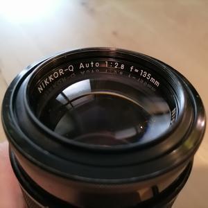 尼康AIS135 F2.8 手动镜头