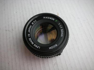很新理光50mmf1.7镜头,PK卡口,可配各种胶片和数码相机