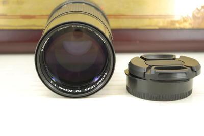 90新 FD口 佳能 200mm F4 手动胶卷单反镜头 远摄定焦 可转接微单