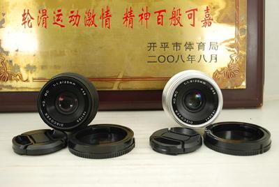 98新 E口 DISCOVER 七工匠 25mm F1.8 手动微单镜头 索尼无反机身
