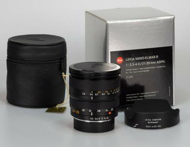 徕卡 Leica R 21-35/3.5-4.0 ASPH ROM 带银盒包装