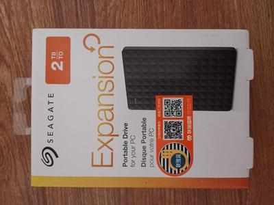 希捷(Seagate) 移动硬盘 2TB USB3.0 新睿翼