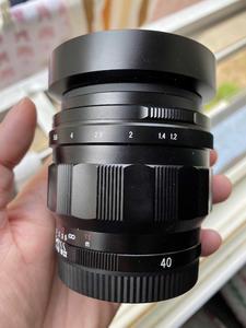 福伦达 Nokton 40mm f/1.2 索尼E口