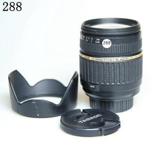 腾龙 AF18-200mm  LD Asp[IF] MACRO(A14)尼康口288