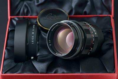 徕卡 Leica M 50/1.4 ASPH LHSA E43 黑漆 MP3配头 带包装
